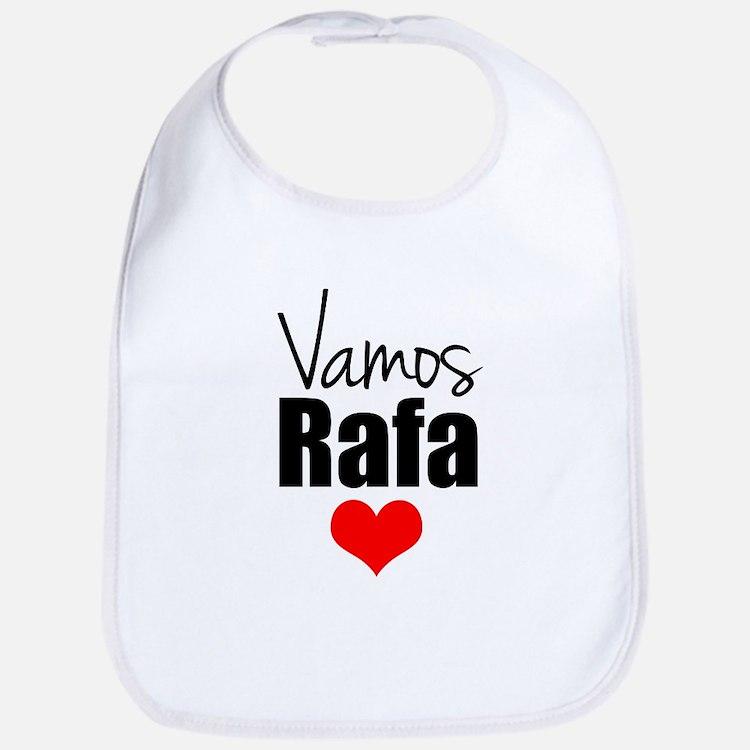 Vamos Rafa Love Bib