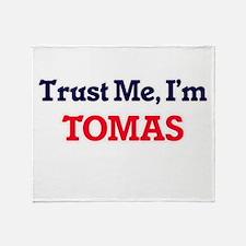 Trust Me, I'm Tomas Throw Blanket