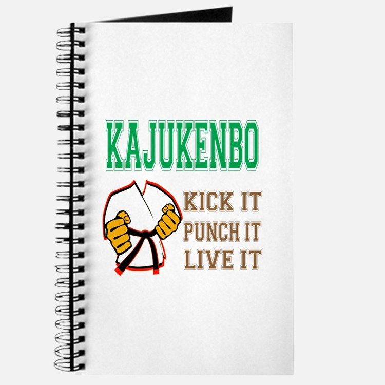 Kajukenbo kick it punch it live it Journal