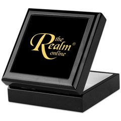Realm Logo Keepsake Box (Gold)