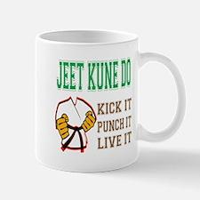 Jeet Kune Do kick it punch it live it Mug