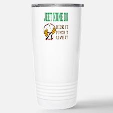 Jeet Kune Do kick it pu Stainless Steel Travel Mug