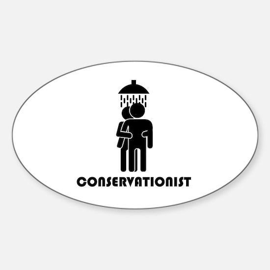 Cute Clean funny Sticker (Oval)