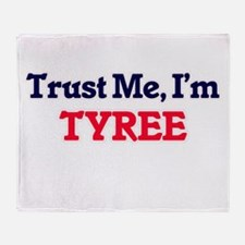 Trust Me, I'm Tyree Throw Blanket