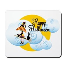 Happy Halloween Witch2 Mousepad