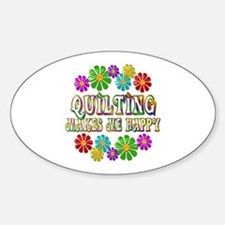 Quilting Happy Stickers