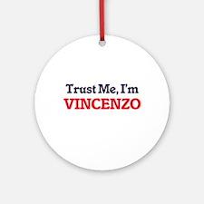 Trust Me, I'm Vincenzo Round Ornament