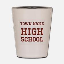 High School Shot Glass