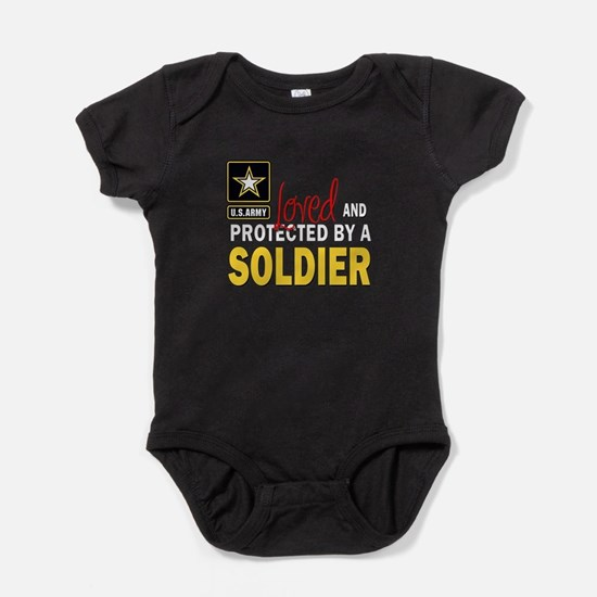 Cute Military Baby Bodysuit
