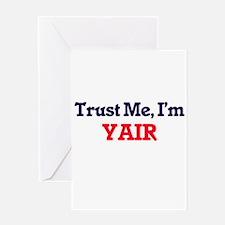 Trust Me, I'm Yair Greeting Cards