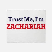 Trust Me, I'm Zachariah Throw Blanket