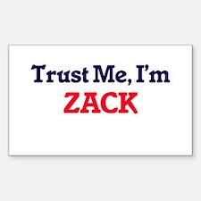 Trust Me, I'm Zack Decal