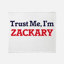 Trust Me, I'm Zackary Throw Blanket