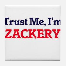Trust Me, I'm Zackery Tile Coaster