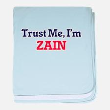 Trust Me, I'm Zain baby blanket