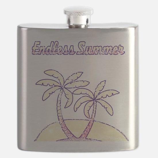 Vintage Retro Endless Summer Flask