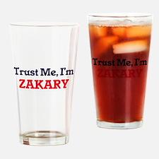 Trust Me, I'm Zakary Drinking Glass