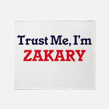 Trust Me, I'm Zakary Throw Blanket