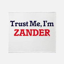 Trust Me, I'm Zander Throw Blanket