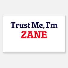 Trust Me, I'm Zane Decal