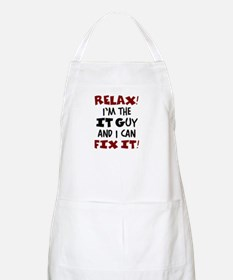 relax it guy here Apron