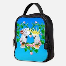 Cockatoos of the Heart Neoprene Lunch Bag