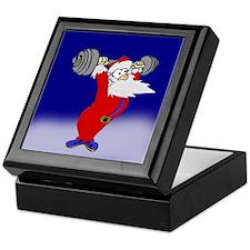 Working out Santa Keepsake Box
