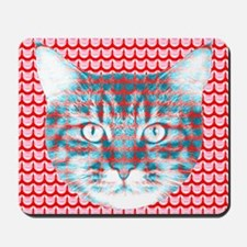 Cat Face Mousepad