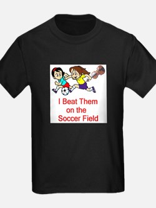 Girl's Soccer / Violin T-Shirt