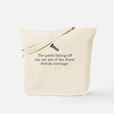British Parts Tote Bag