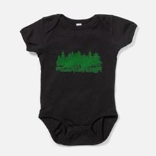 Cute Christmas tree Baby Bodysuit