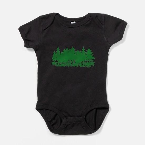 Cute Nature Baby Bodysuit