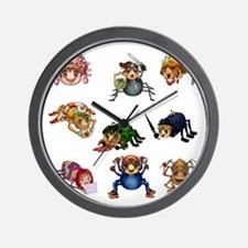 Spiderling Chronicles Wall Clock