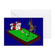 Santa and Rudolph Greeting Cards (Pk of 20)