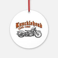 Knucklehead Ornament (Round)