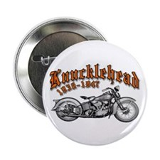 "Knucklehead 2.25"" Button"