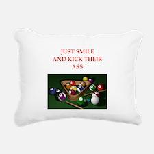 billiards Rectangular Canvas Pillow