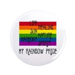 "My Rainbow Pride 3.5"" Button (100 pack)"