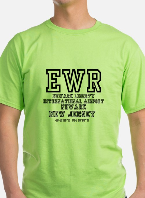 AIRPORT CODES - EWR - NEWARK LIBERTY, NEW JERSEY T