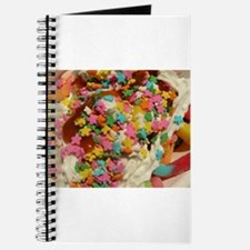 sundae with gunni worms, sprinkles, whippe Journal