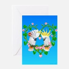Cockatoos of the Heart Greeting Cards
