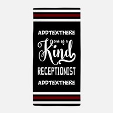 Personalized Gift Receptionists Beach Towel