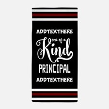 Personalized Gift for Principals Beach Towel