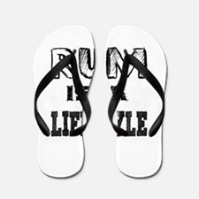 Rum Is A LifeStyle Flip Flops