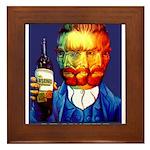 Absinthe Liquor Drink Framed Tile