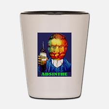 Absinthe Liquor Drink Shot Glass