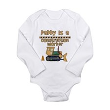 Daddy is a Construction Worker Infant Creeper Body
