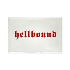Hellbound Rectangle Magnet (10 pack)