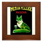 Menta Pezziol Padova Aperitif Liquor Framed Tile