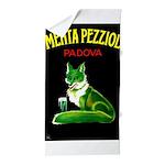 Menta Pezziol Padova Aperitif Liquor Beach Towel